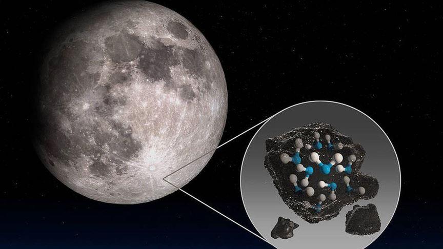 Nasa Ay'da Su bulundu
